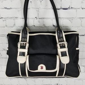 TOMMY HILFIGER | buckle detail nylon shoulder bag